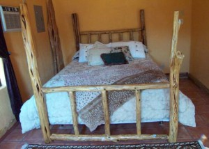 home made bed