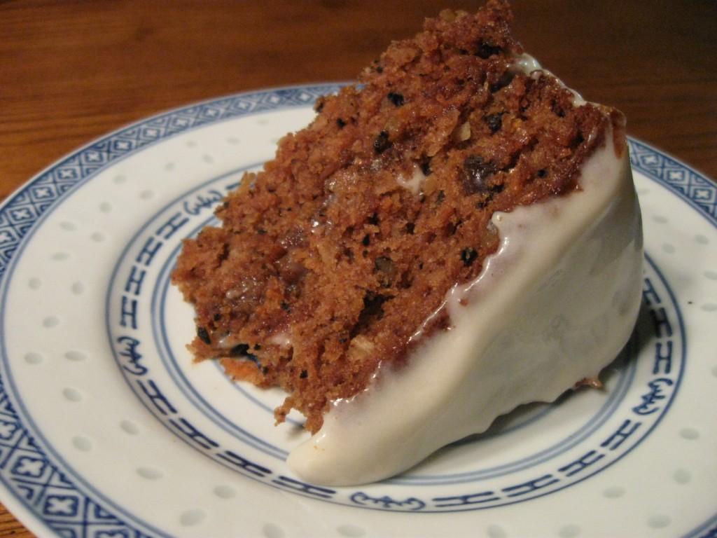 Organic Carrot Cake