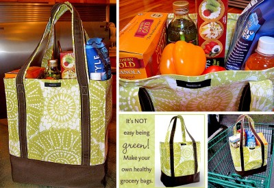 grocery bags for food