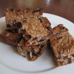 Coconut And Banana Energy Bars