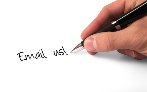 Fountain pen writing Email Us!
